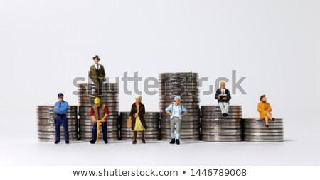 pièces · main · affaires · argent · métal - photo stock © kirill_m