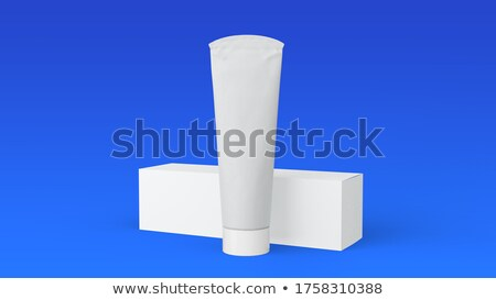 A topview of a medicine tube Stock photo © bluering