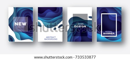 modern minimalistic wave background design Stock photo © SArts