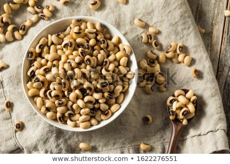 Organik bezelye kahverengi tohum Stok fotoğraf © mpessaris