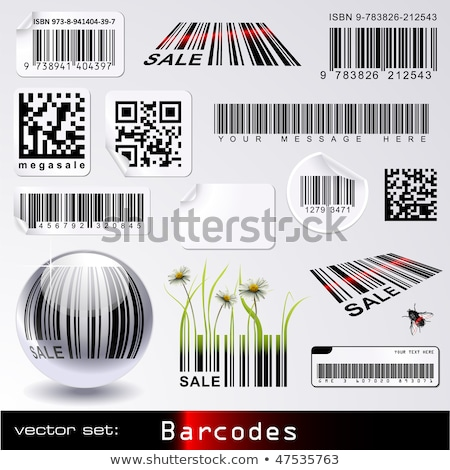 globe with barcode Stock photo © get4net