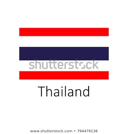 Bandera Tailandia marco ilustración diseno fondo Foto stock © colematt