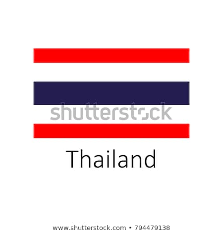 Banderą Tajlandia ramki ilustracja projektu tle Zdjęcia stock © colematt
