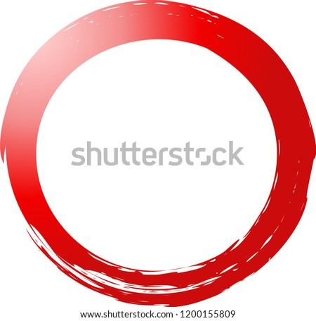 красочный круга иллюстрация окрашенный щетка Сток-фото © Blue_daemon