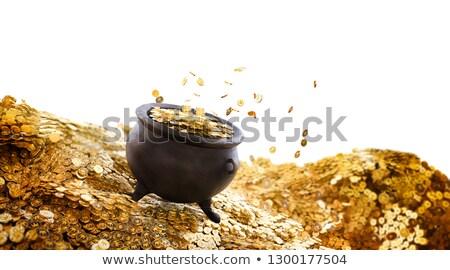 para · altın · madeni · Yıldız · jackpot · kazanmak · iş - stok fotoğraf © colematt