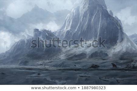 3d abstract frozen world stock photo © fesus