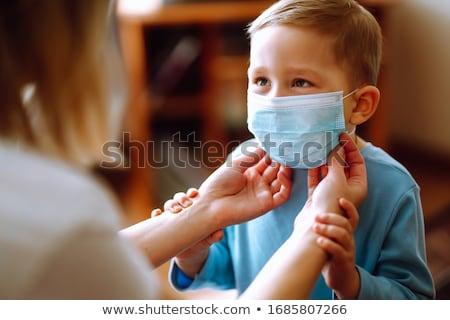Crianças médico vacinação médico vacina criança Foto stock © jossdiim