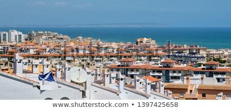 Horizontal image of Torrevieja cityscape, Spain Stock photo © amok