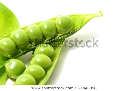peas isoladed Stock photo © Masha