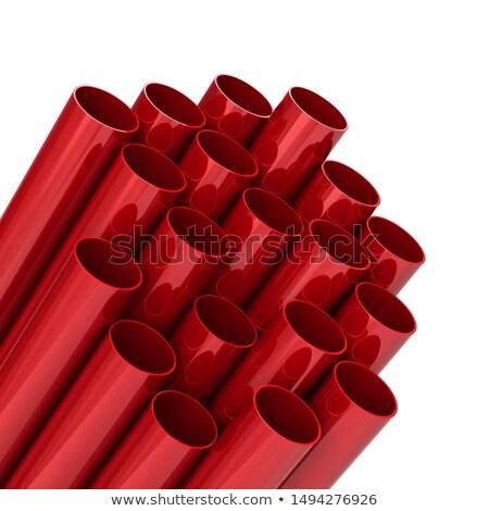 színes · műanyag · csövek · absztrakt · ipar · cső - stock fotó © taigi
