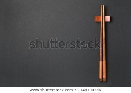 asia chopsticks Stock photo © compuinfoto