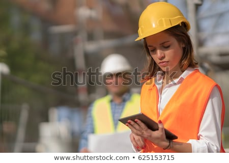 thoughtful female apprentice Stock photo © photography33