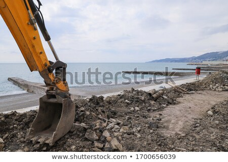 Excavated channel for tube Stock photo © deyangeorgiev