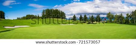 Сток-фото: гольф · лет · утра · гольф · спортивных