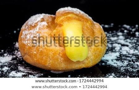Krema vanilya pasta krem taze doğal Stok fotoğraf © keko64