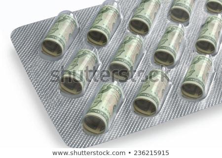estetoscopio · dólar · médicos · dinero · papel - foto stock © manaemedia
