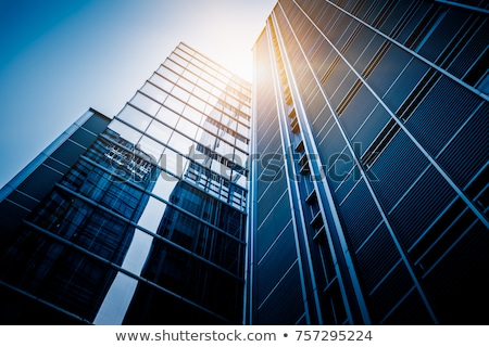 budynku · biały · działalności · komputera · niebo · domu - zdjęcia stock © meinzahn