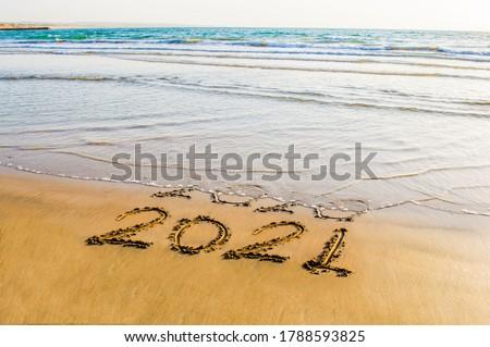 tengerpart · világoskék · homokos · tengerpart · naplemente - stock fotó © moses