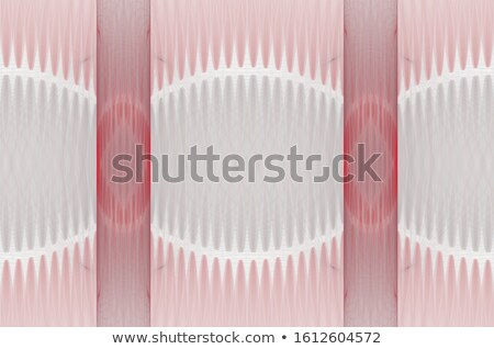 3d abstract pink spiked shape pattern on white  Stock photo © Melvin07