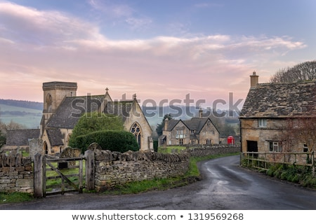 Snowshill village, Cotswolds Stock photo © andrewroland