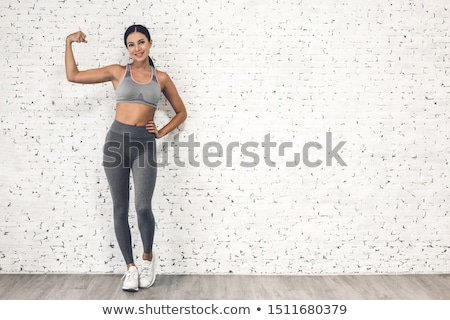 Beautiful athletic woman Stock photo © restyler