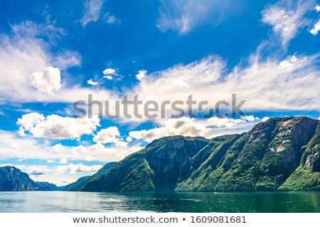 Beautiful Lysefjorden view stock photo © Nejron