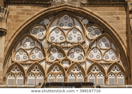Selimiye mosque (St. Sophia Cathedral). Nicosia, Cyprus Stock photo © Kirill_M