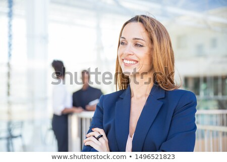 young business man looking away from the camera stock photo © feedough