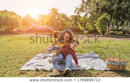 pic nic family Stock photo © adrenalina