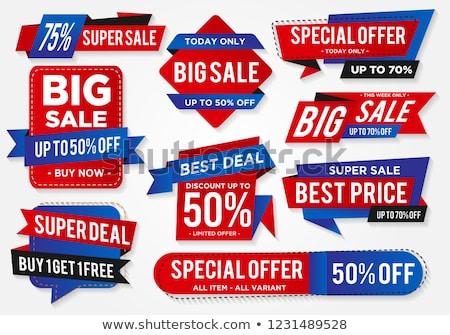 Super Offer Green Vector Icon Design Stock photo © rizwanali3d