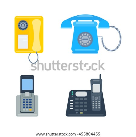 Ayarlamak dizayn telefon düğmeler simgeler Stok fotoğraf © olgaaltunina