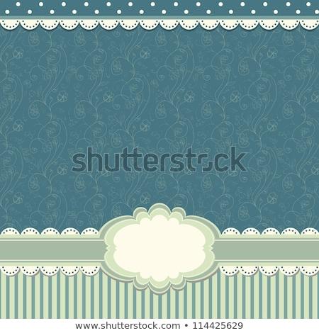 gyönyörű · stilizált · pitypangok · pasztell · zöld · természet - stock fotó © beholdereye