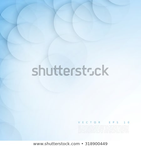 bubble gradient pattern in blue and white  Stock photo © Melvin07