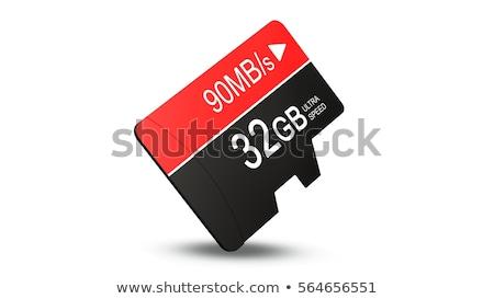 MicroSD memory card. Stock photo © pakete