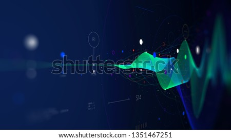 a visual interface stock photo © bluering