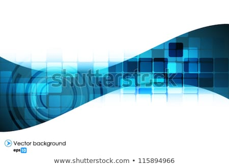 plantilla · silueta · joven · corredor · antorcha - foto stock © fresh_5265954