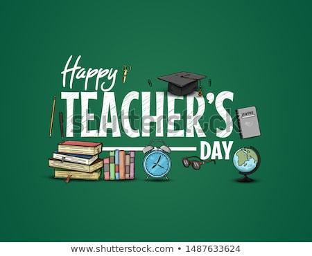 National Teachers Day design Stock photo © kiberstalker