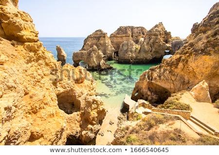 Naturalismo rochas praia água paisagem verão Foto stock © homydesign