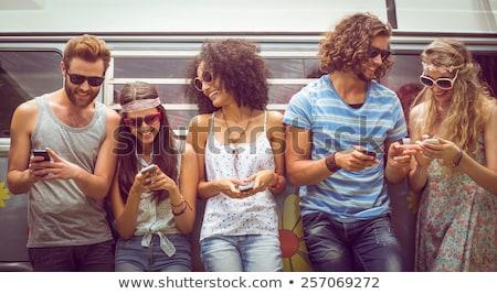 polnej · summertime · lata · zielone · pola · Szwecja - zdjęcia stock © wavebreak_media