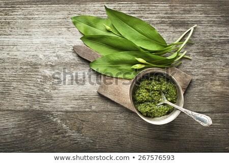 wild garlic oil stock photo © joker