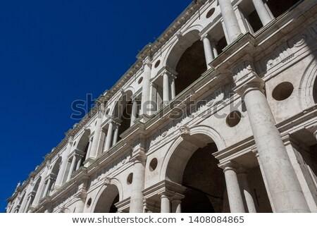 Bazilika İtalya görmek Bina şehir mimari Stok fotoğraf © boggy