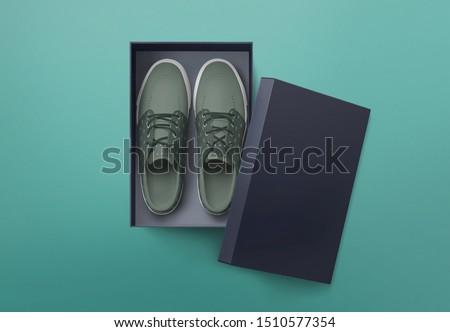 Shoe box. Stock photo © Silanti