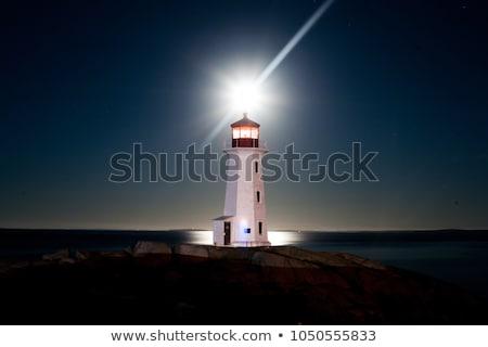 lighthouses at dusk Stock photo © smithore