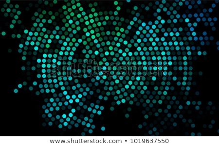 Blue blurry round shapes abstract background Stock photo © fotoaloja