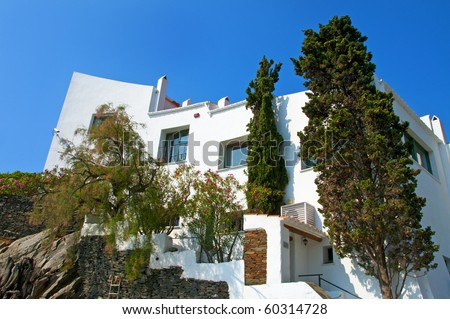 House-museum of Salvador Dali, Portlligat, Cadaques. Stock photo © Nejron