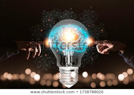 due · lanterna · crepuscolo - foto d'archivio © alexeys