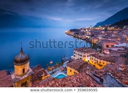 Blue hour at Lake Garda Stock photo © manfredxy