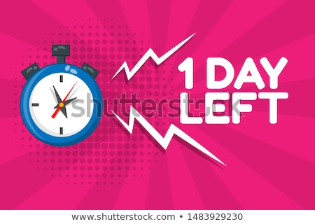 Week deal Blauw vector icon ontwerp Stockfoto © rizwanali3d