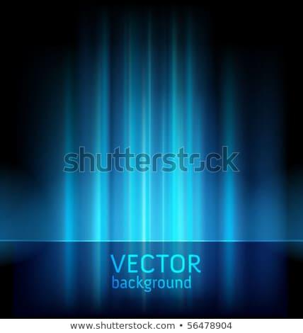 青 オーロラ 光 抽象的な ベクトル 背景 ストックフォト © fresh_5265954