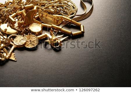 dólares · oro · ver · blanco · retro · monedas - foto stock © illustrart